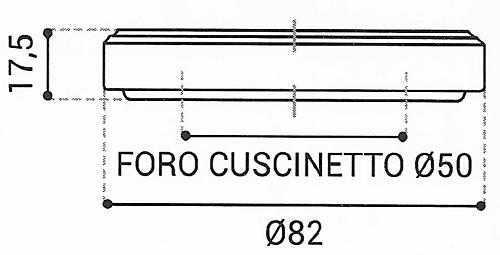 Cuscinetto Reggispinta 50x82x17,5 - TRT1432