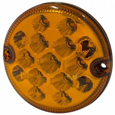 15.0 LED 9-33V Indicatore di direzione Arancio