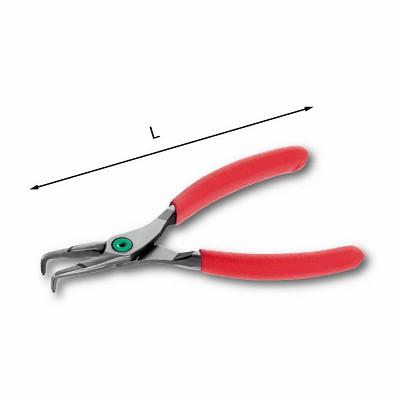 Pinze a becchi piegati a 90° per anelli elastici interni - U01270022