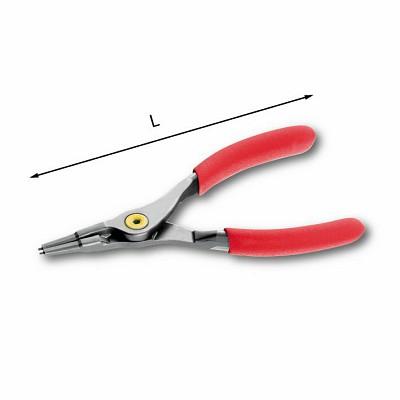 Pinze a becchi diritti per anelli elastici esterni - U01280006