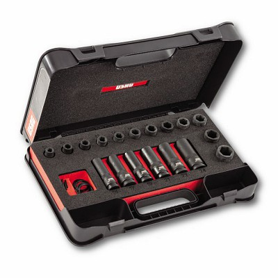 Assortimento in cassetta di ABS con bussole macchina (21 pz) - U02359281