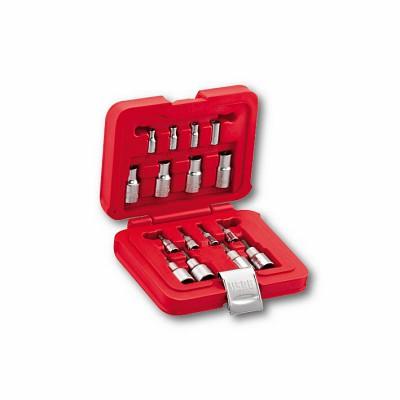 Assortimento in cassetta modulare con bussole TORX® (16 pz) - U06010009